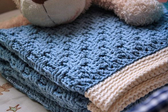 Crochet Baby Blanket Basket Weave Pattern : Compilation of My Favorite Baby Blanket Patterns ? Part 1 ...