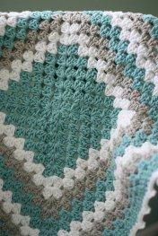 Granny Square Baby Blanket 2