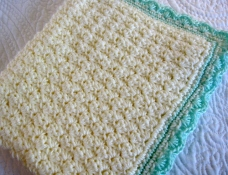 Modern Grace Baby Blanket 1