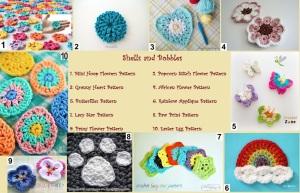 Crochet Appliques Pattern