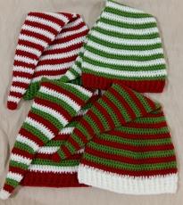 Elf hats (pom-poms remain)
