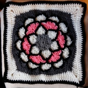Block 16 - Joyful Afghan Square