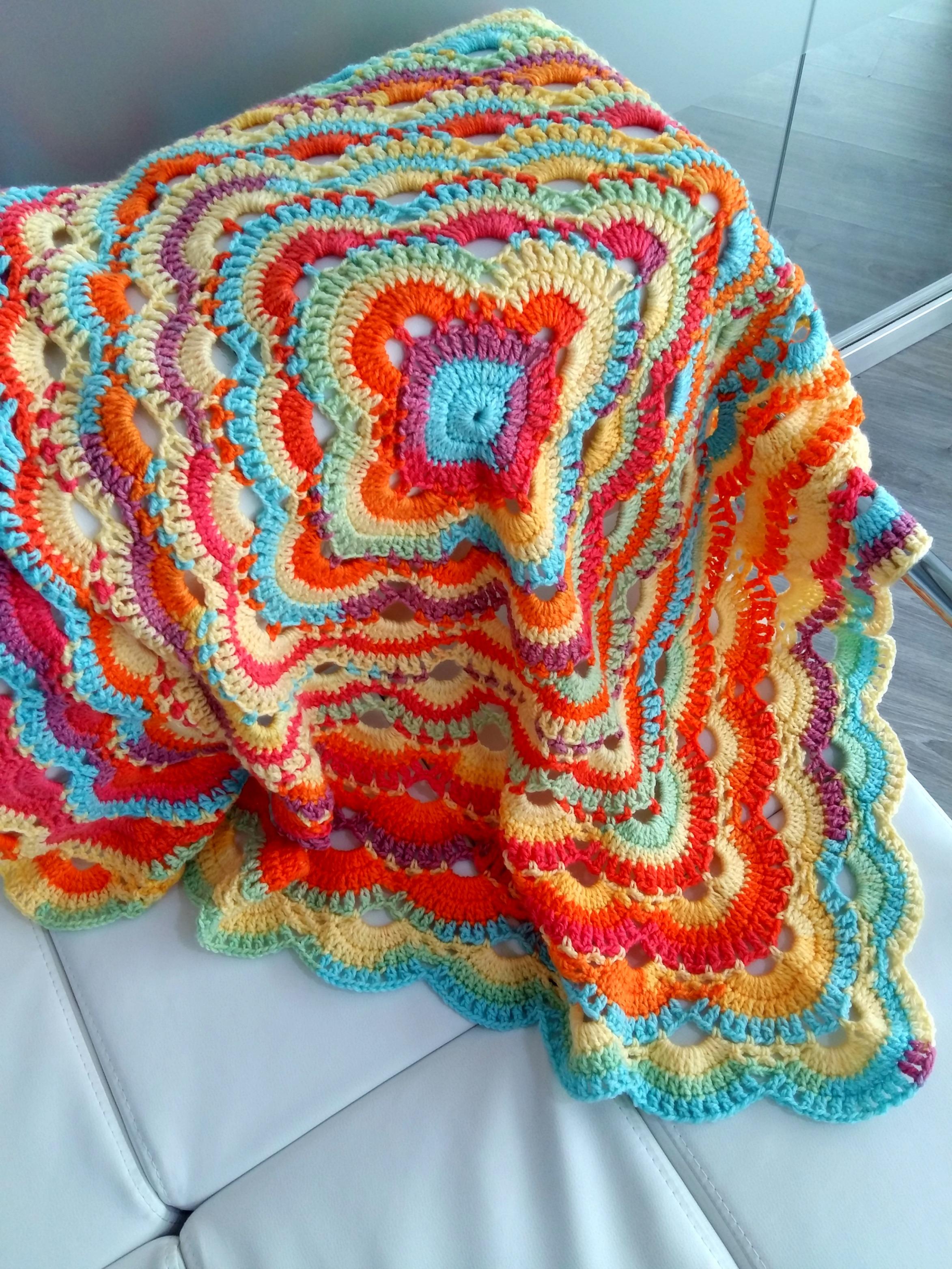 image regarding Virus Blanket Pattern Free Printable named Crochet Virus Blanket Ss Bobbles